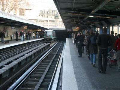 Line 1 Platforms Eastbound View