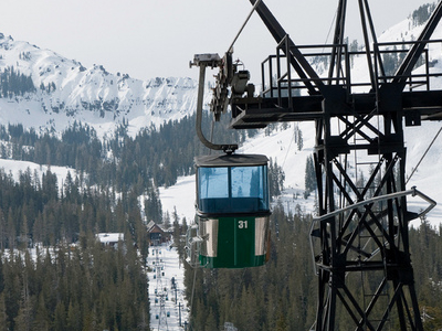 Sugar  Bowl  Ski  Resort  Gondola
