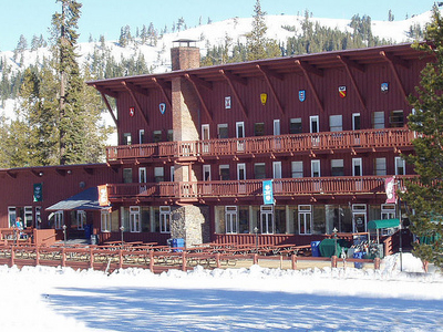 Sugar  Bowl  Ski  Resort  Modern  Lodge