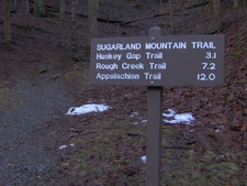 Sugarland Mountain Trailhead