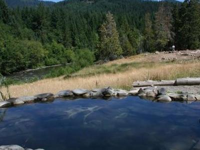 Meadow Pool At Breitenbush Hot Springs