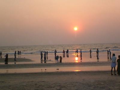 Sunset At Payyambalam Beach