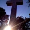 Sunset Mt Davidson Cross