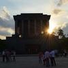 Sun Seting Behind The Mausoleum