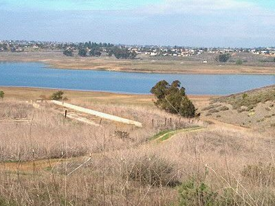 View Of Sweetwater Reservoir