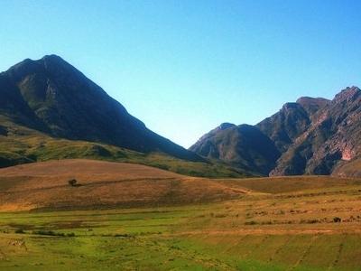 Landscape Of Langeberg Range