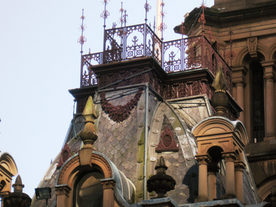 Detail On One Of The Roofs