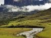 Table Mount Roirama Amid Clouds