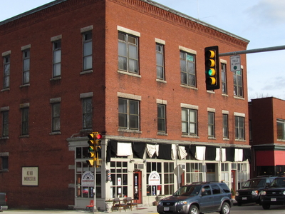 Taft Brothers Block Downtown Uxbridge