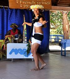 Tahitian Dance In New Caledonia