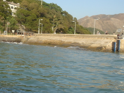 Tai  O  Pier And  Old  Police  Station
