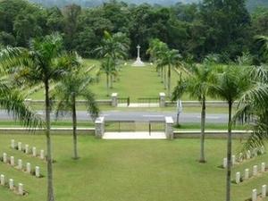 Taiping cementerio de la guerra