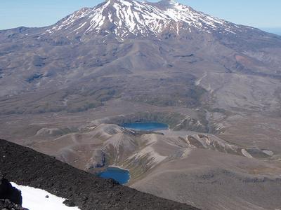 Tama Lakes And Ruapehu