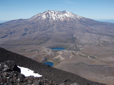Tama Lakes Tramping Track - Tongariro National Park - New Zealand