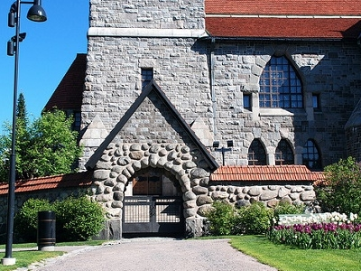Tampere Cathedral Entrance - Finland
