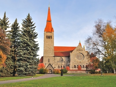Tampere Cathedral In Tampere Finland