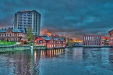 Tampere - Tammerkoski Rapids - Finland