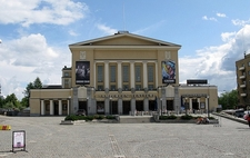 Tampere Theatre Front View - Tampere Finland