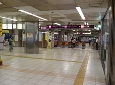 Tanimachi Kyūchōme Station Central Gate