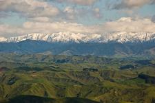 Tararuas From Pori Rd., Wairarapa, New Zealand