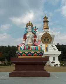 Tara Statue Great Stupa Dehra Dun