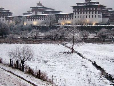 Tashichho Dzong  Bhutan
