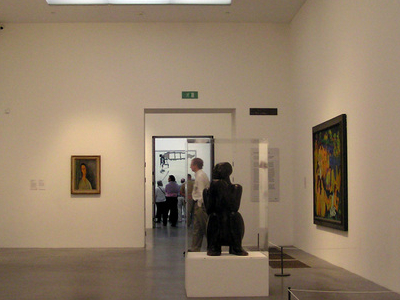 A Gallery At Tate Modern