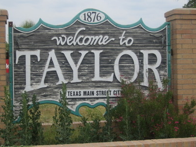 Taylor   T X Sign