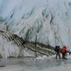 Taylor Glacier At The Lake