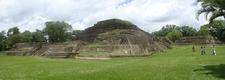 Tazumal Panorama - Santa Ana Department - El Salvador