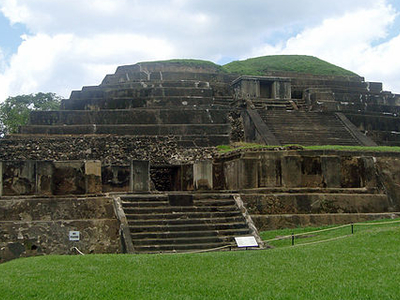 Tazumal - Santa Ana Department - El Salvador