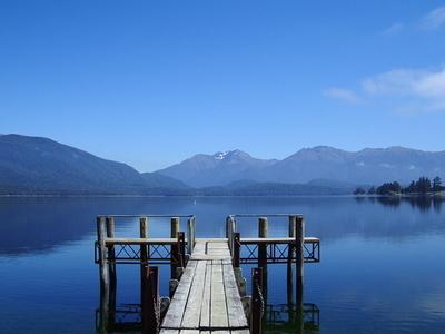 Overlooking Lake Te Anau