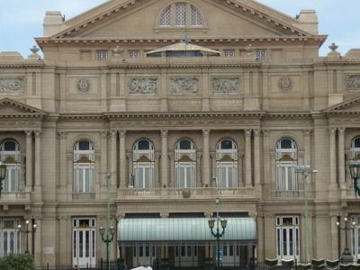 Teatro Colon Western Entrance