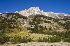 Teewinot Mountain - Grand Tetons - Wyoming - USA