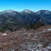 Tehachapi Mountains Crest Peaks