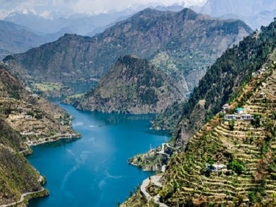 Tehri Lake & Dam - India UT