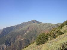 Telescope Peak From The Main Trail
