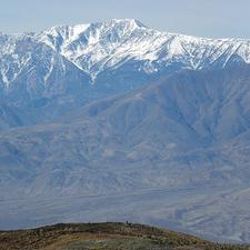 Telescope Peak Viewed From Devil's Golfcourse