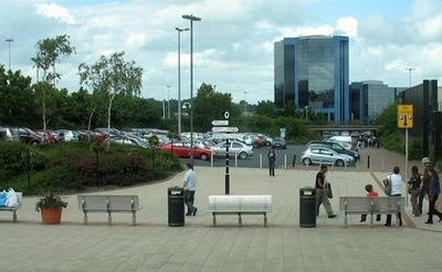 Telford Town Centre    England