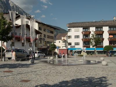 A Square In Telfs.