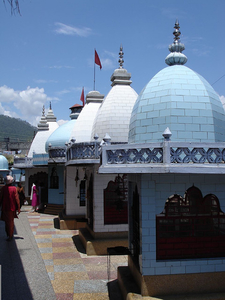 Temple In Kausani