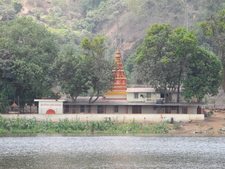 Temple Alongside Khandala Lake - Maharashtra - India