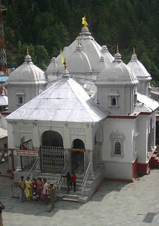 Temple At Gangotri UT