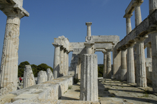 Temple Of Aphaia At Aigina - Saronic Gulf - Greece