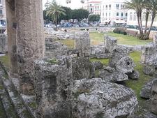 Temple Of Apollo - Syracuse - Sicily - Italy