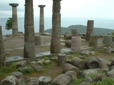 Temple Of Athena, Turkey