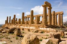 Temple Of Juno Lacinia At Agrigento - Sicily - Italy