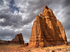 Temple Of The Moon In Capital Reef