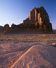 Temple Of The Sun - Cathedral Valley - Capitol Reef- Utah - USA