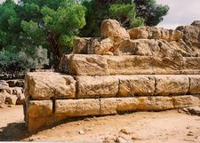 Temple Of Zeus - Agrigento - Italy